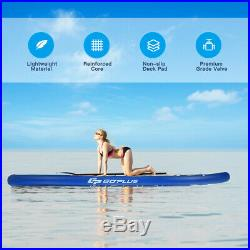 Stand Up Inflatable SUP Paddleboard for All Skill Levels with Accessories 297cm