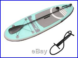 Stand Up Paddle Board 12ft Blue Inflatable 12' SUP with Pump