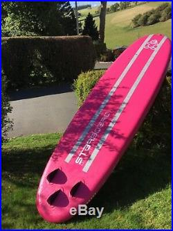 Sup North Devon Starboard Inflatable Tkihine Paddle board With Starboard Paddle
