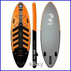 Tiki 8ft 0 Inflatable SUP Shred Stand Up Paddle Board + Accessories Pack