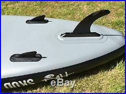 Tiki 9ft 10 Inflatable SUP Skud + 3Pce Paddle + Leash + Pack Stand Up Board