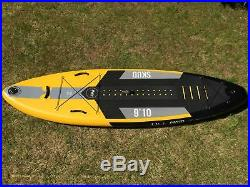 Tiki 9ft 10 Inflatable SUP Skud Stand Up Paddle Board + Accessories Pack