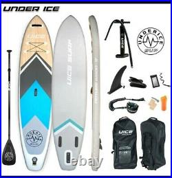 UNDERICE Inflatable Stand-Up Paddle Board 11FT SUP with accessories. Pro board