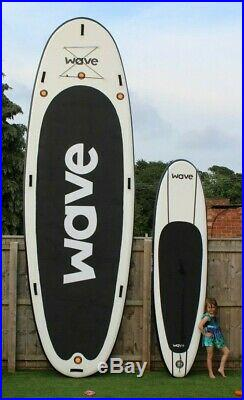 Wave 6 to 8 Person Inflatable Stand Up Paddle Board, SUP, WithPaddle