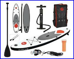 XQ MAX Pure 4 Fun Inflatable Stand Up Paddle Board SUP 3.05M 10'Long & Backpack