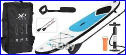 XQ Max Inflatable Stand Up Paddle Board SUP with Accessories 3.05M/10'Long Blue