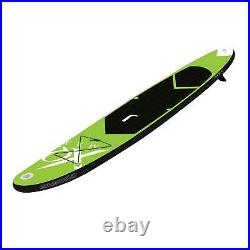 XQ Max SUP Green Inflatable Stand Up Paddleboard Set Accessories Kit 6in 10.5ft
