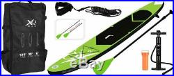 XQ Max SUP Inflatable Stand-Up Paddle Board Set Watersports 305/320cm 4/6 Inch