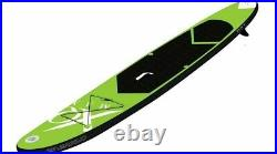 XQ Max SUP Inflatable Stand-Up PaddleBoard 305cm x 71cm x 10cm GREEN. NEW