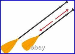 XQ Max SUP Inflatable Stand-Up PaddleBoard 305cm x 71cm x 10cm ORANGE. NEW