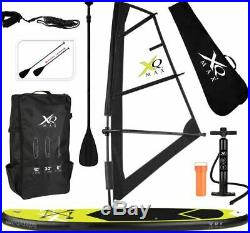 XQ Max SUP Windsurf Inflatable Stand-Up Paddle Board Set 305cm Convertible 6'
