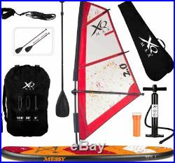 XQ Max SUP Windsurfing Inflatable Stand-Up Paddle Board Set 320cm Convertible 6