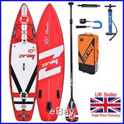 Zray Fury iSUP 10'10 Inflatable Stand Up Paddle Board Touring